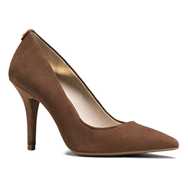 MICHAEL KORS Flex Suede High-Heel Pump - Impeccably Crafted From Sumptuous Brushed Suede Our Classic...