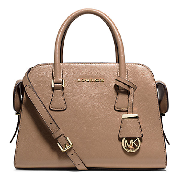 MICHAEL KORS Harper Medium Leather Satchel - Say Hello To Harper A New Design Inspired By A Vintage...
