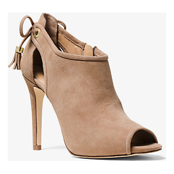 MICHAEL KORS Jennings Suede Ankle Boot - As Sleek As They Are Sumptuous Our Jennings Ankle Boots Are...