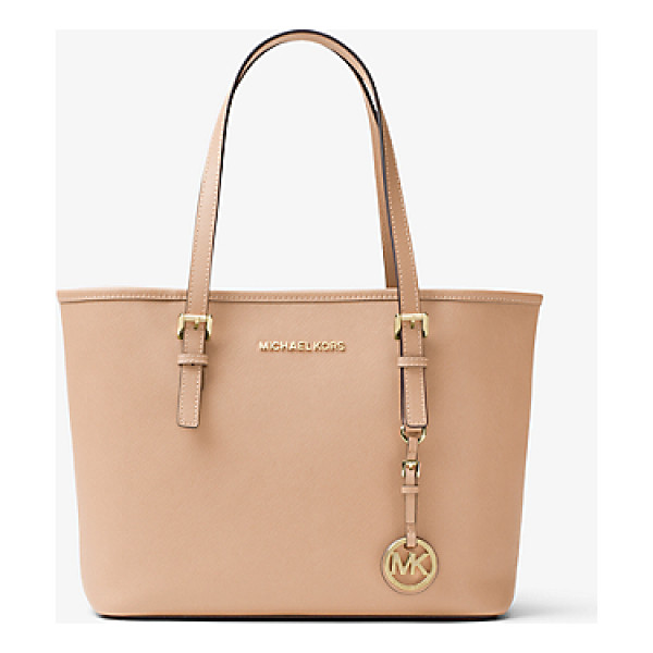 MICHAEL KORS Jet Set Travel Saffiano Leather Small Tote -