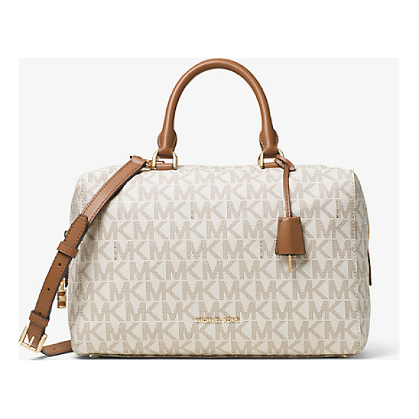 MICHAEL KORS Kirby Large Logo Satchel - Kirby Is A Sophisticated Satchel With Signature Appeal....