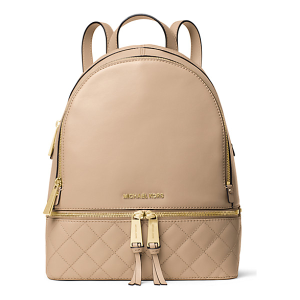 MICHAEL KORS Rhea medium quilted-leather backpack - Exclusively Ours in Michael Kors stores and on...