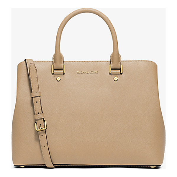 MICHAEL KORS Savannah Large Saffiano Leather Satchel - Combining Expert Craftsmanship With Sleek Functionality Our...
