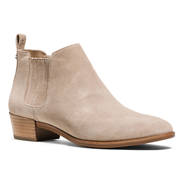 MICHAEL KORS Shaw Suede Ankle Boot - Rely On Our Shaw Ankle Boots To Ground Your Wardrobe This...