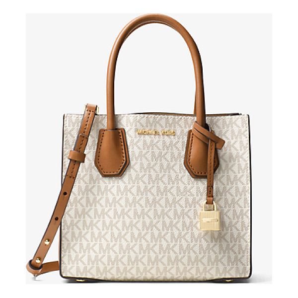 MICHAEL KORS STUDIO Mercer Logo Crossbody - Crafted From Coated Twill And Printed With Our Signature...