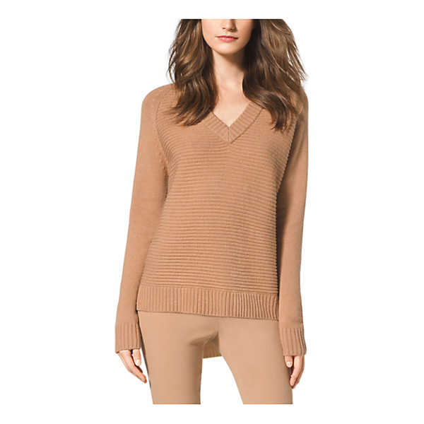 MICHAEL KORS Wool And Cashmere-Blend Sweater - In A Rich Blend Of Wool And Cashmere This Seasonless Staple...