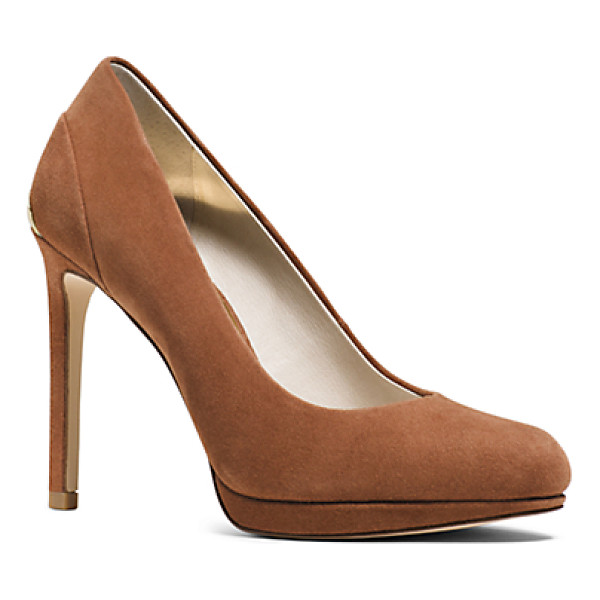 MICHAEL KORS Yasmin Suede Pump - Our Yasmin Pump Is Crafted From Supple Suede With A...