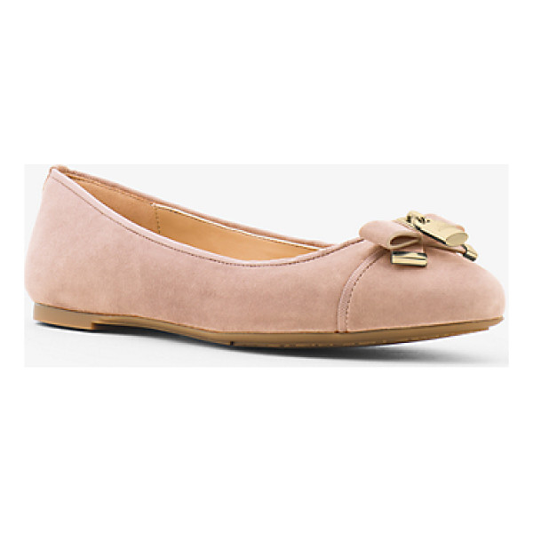MICHAEL MICHAEL KORS Alice Suede Ballet Flat - A Touch Of Shine And Luxe  Suede Elevate