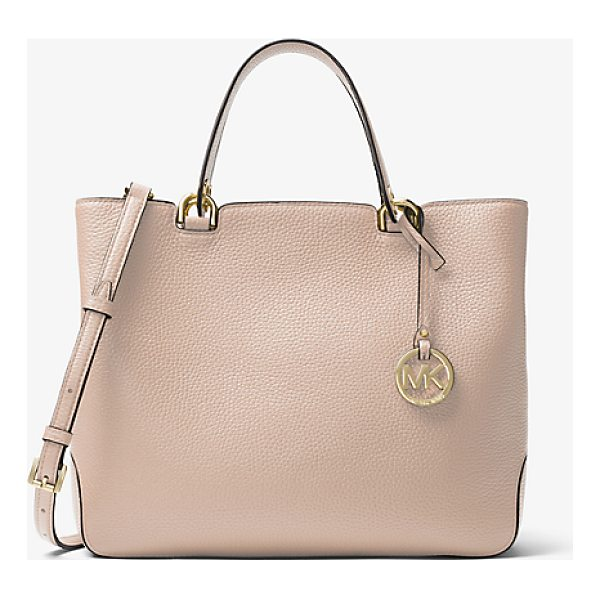 MICHAEL MICHAEL KORS Anabelle Leather Tote - The Anabelle Tote Is The Carryall We Can't Live Without....