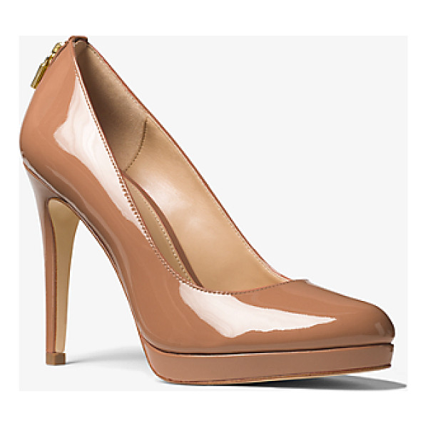 MICHAEL MICHAEL KORS Antoinette Patent Leather Pump - The Antoinette Patent Leather Pump Updates The Classic