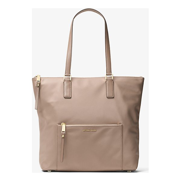 MICHAEL MICHAEL KORS Ariana Large Nylon And Leather Tote - Modern Meets Classic In The Form Of Our Ariana Tote....