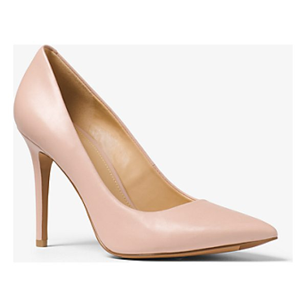 MICHAEL MICHAEL KORS Claire Leather Pump - Our Claire Pumps Are Crafted From Smooth Leather And...