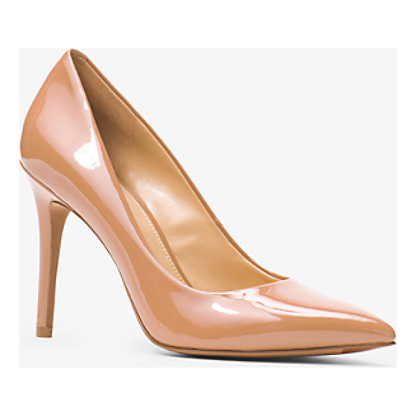 MICHAEL MICHAEL KORS Claire Patent-Leather Pump - Give Day And Night Looks A Glossy Touch With Our Claire...