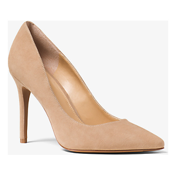 MICHAEL MICHAEL KORS Claire Suede Pump - Give Day And Night Looks A Touch Of Sophistication With Our...