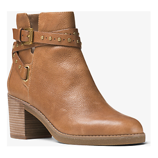 MICHAEL MICHAEL KORS Fawn Leather Ankle Boot - Our Fawn Ankle Boots Blend In Perfectly With The Season's
