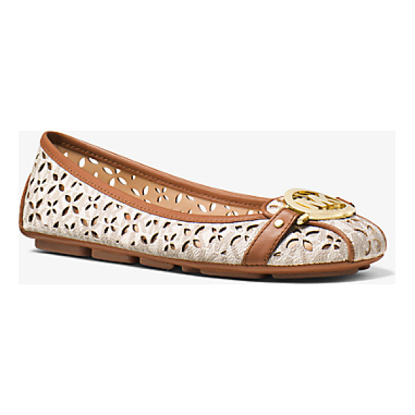 MICHAEL MICHAEL KORS Fulton Perforated Logo Moccasin - Classic Contemporary Cult-Worthy—the Fulton Moccasin Is A...