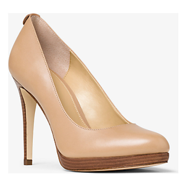 MICHAEL MICHAEL KORS Georgia Leather Pump - Classic In Silhouette Our Georgia Pumps Are An Everyday...