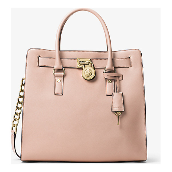 MICHAEL MICHAEL KORS Hamilton Large Saffiano Leather Tote - A Forever Favorite Inspired By A Vintage Silhouette The...