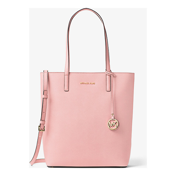 MICHAEL MICHAEL KORS Hayley Large Top-Zip Leather Tote - Meet Hayley: A Spacious Carryall With Signature Style....