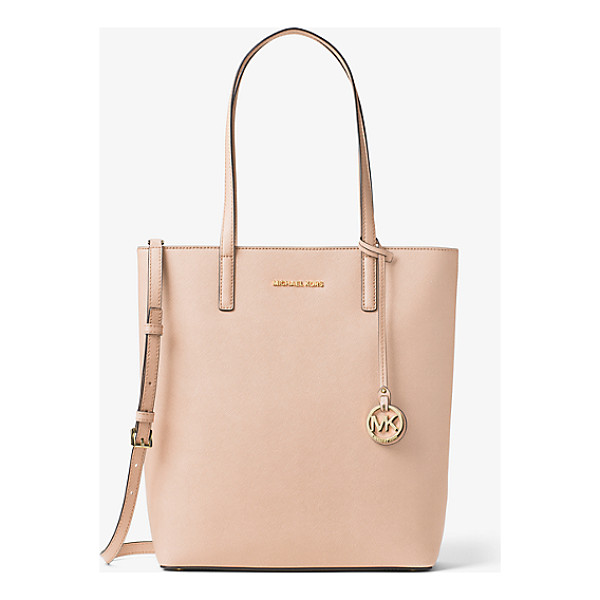 MICHAEL MICHAEL KORS Hayley Large Top-Zip Leather Tote - Meet Hayley: A Spacious Carryall With Signature Style.