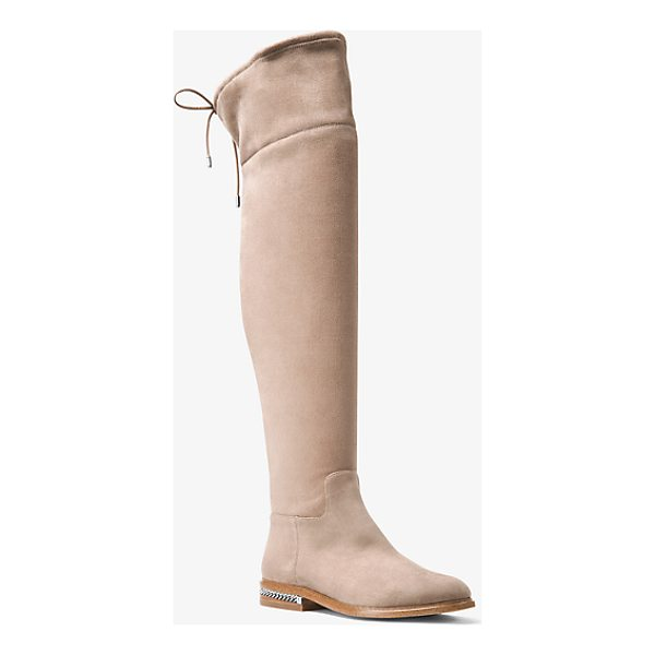 MICHAEL MICHAEL KORS Jamie Stretch Suede Boot - The Perfect Partner To Shorter Hemlines Our Jamie Boots Are...