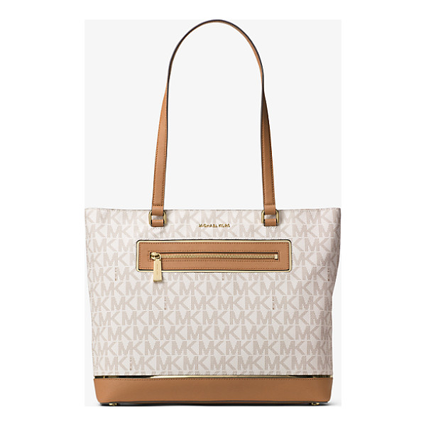 MICHAEL MICHAEL KORS Jet Set Large Logo Tote - Meet Your New Everyday Favorite. Our Effortlessly...