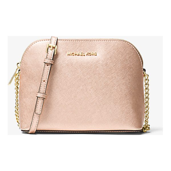 MICHAEL MICHAEL KORS Jet Set Large Metallic Leather Crossbody - The Spacious-Yet-Compact Jet Set Crossbody Is Classic And...