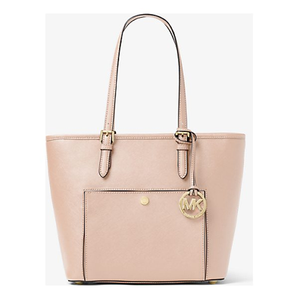 MICHAEL MICHAEL KORS Jet Set Travel Medium Leather Tote - This Classic Carryall Is Just The Ticket For On-The-Go...