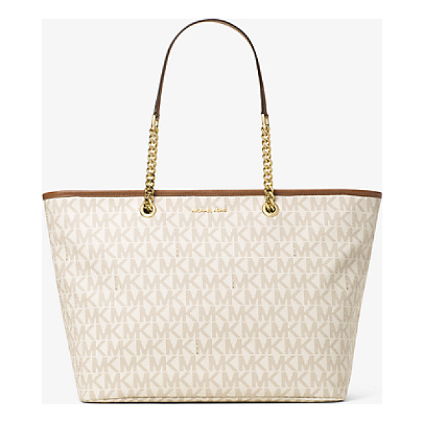 MICHAEL MICHAEL KORS Jet Set Travel Medium Logo Tote - A Cool Classic This Jet Set Travel Tote Is Designed In Our...