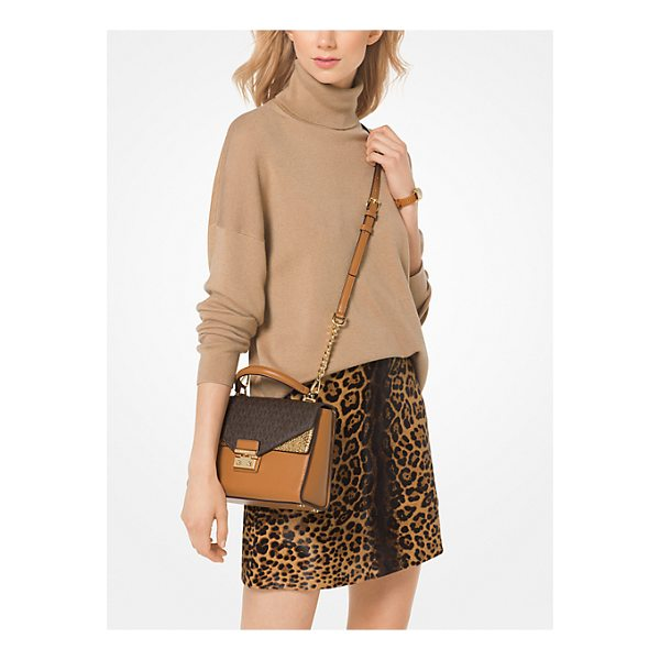 MICHAEL MICHAEL KORS Knit Turtleneck Pullover - This Ultra-Soft Turtleneck Pullover Is Rendered In A...