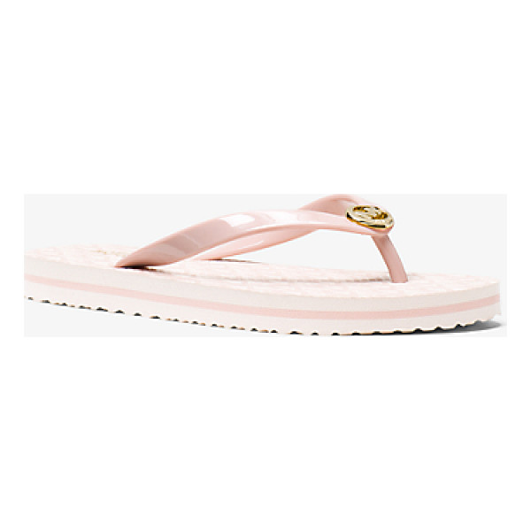 MICHAEL MICHAEL KORS Logo Flip-Flop - A Getaway Essential These Flip-Flops Are Tailor-Made For...