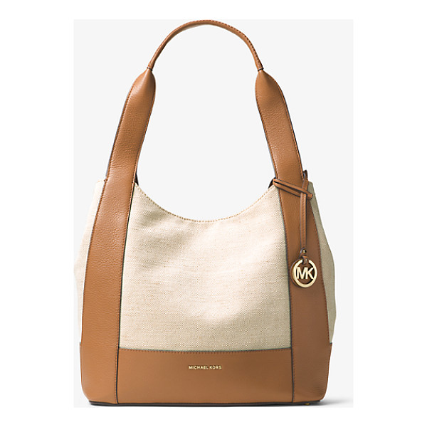 MICHAEL MICHAEL KORS Marlon Large Canvas And Leather Tote - Our Marlon Tote Provides Modern Versatility For The Girl On...
