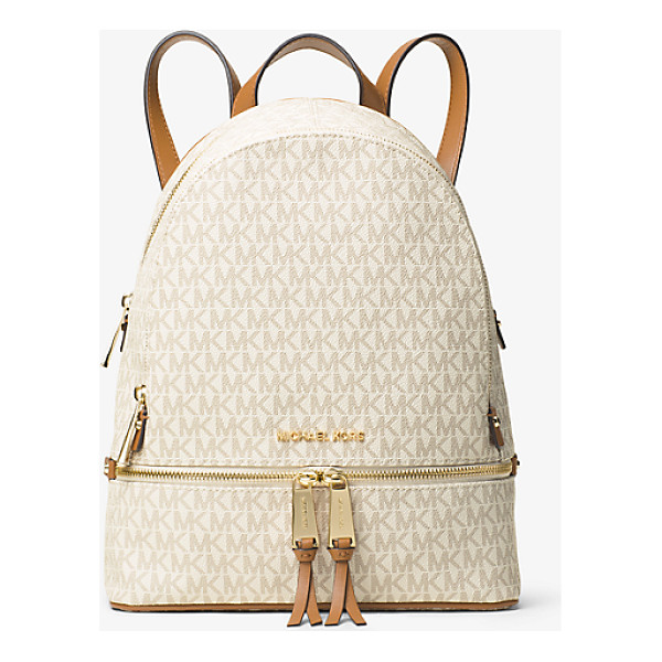 MICHAEL MICHAEL KORS Rhea Medium Backpack - Laid-Back Yet Luxe Our Rhea Backpack Redefines Big-City...