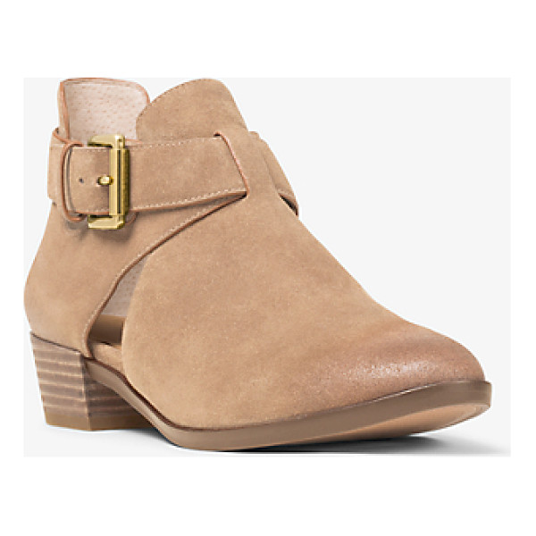 MICHAEL MICHAEL KORS Mercer Cutout Suede Ankle Boot - No Closet Is Complete Without A Versatile Pair Of Ankle