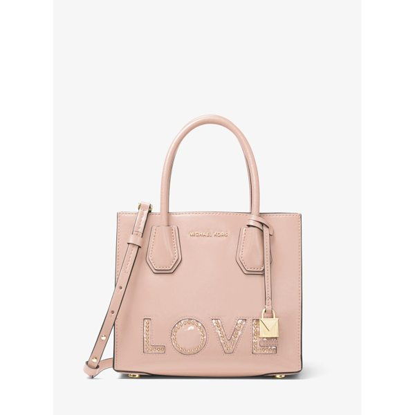 MICHAEL MICHAEL KORS Mercer Love Leather Crossbody - Love Is The Thing This Season When It Comes To Our Mercer...