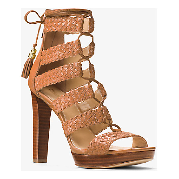MICHAEL MICHAEL KORS Monterey Leather Sandal - Rendered In Luxe Leather Our Monterey Sandals Exude Tactile...