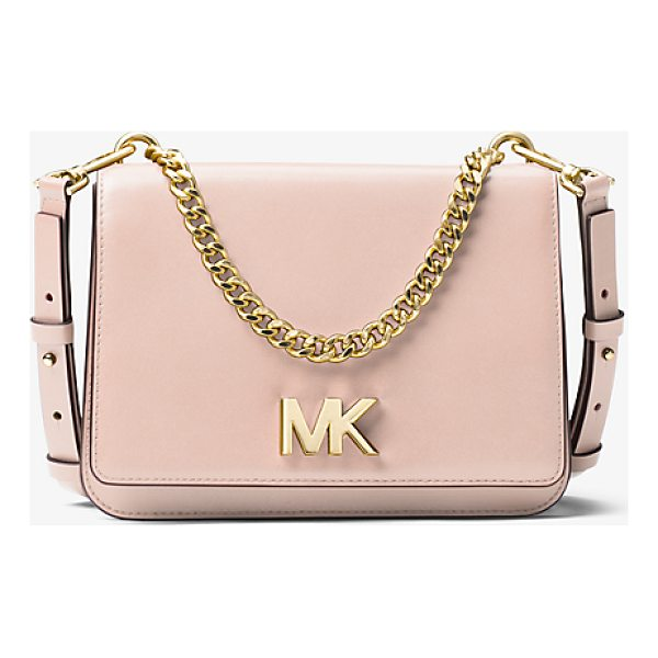 MICHAEL MICHAEL KORS Mott Leather Crossbody - Designed To Take You From Am To Pm The Mott Is Reimagined...