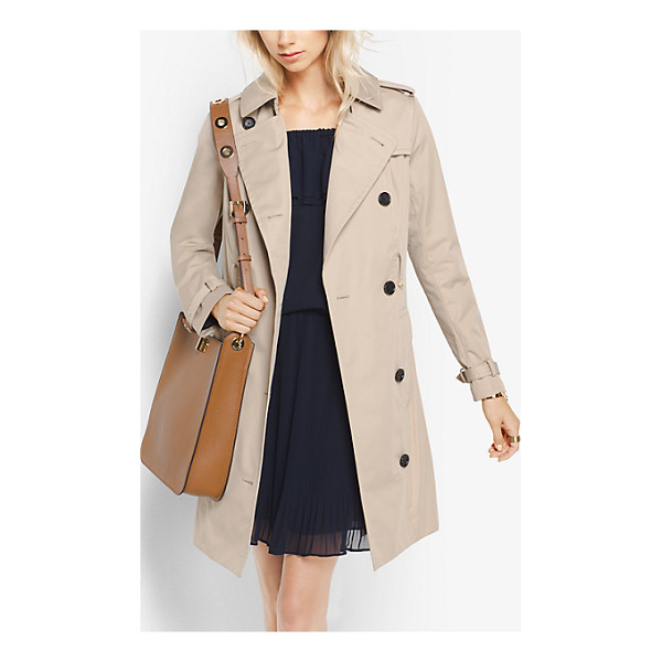 MICHAEL MICHAEL KORS Sateen Trench Coat - An Outerwear Classic Our Trench Coat Is Traditionally...