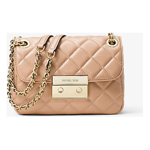 MICHAEL MICHAEL KORS Sloan Small Quilted-Leather Shoulder Bag -