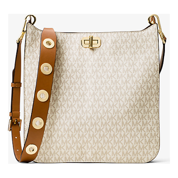 MICHAEL MICHAEL KORS Sullivan Large Logo Messenger - Crafted From Coated Canvas And Designed In Our Modern Logo