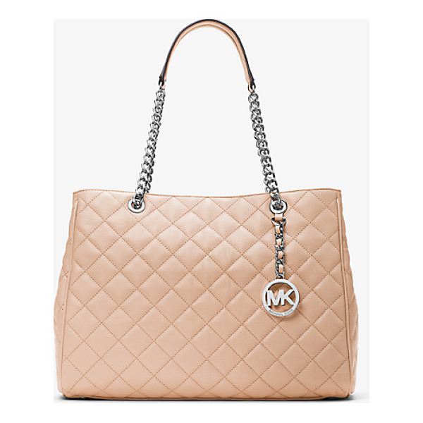 MICHAEL MICHAEL KORS Susannah Large Quilted-Leather Tote - For A Daily Carryall That Transcends The Trends Look To Our...