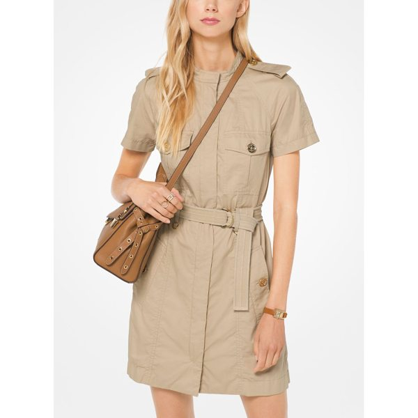 MICHAEL MICHAEL KORS Twill Cargo Dress - Our Cargo Dress Is A Relevant Take On Safari Style....