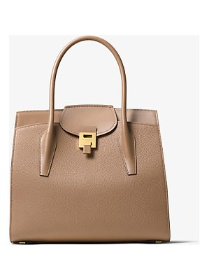 Michael Kors Collection Bancroft Pebbled Calf Leather Weekender