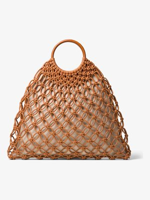 MICHAEL KORS COLLECTION Cooper Woven Leather Tote