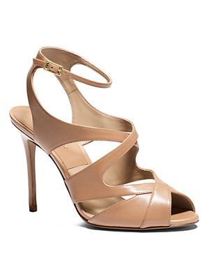 MICHAEL KORS COLLECTION Cordelia Leather Sandal