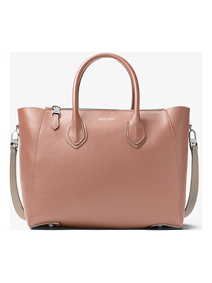 Michael Kors Collection Helena Large French Calf Satchel