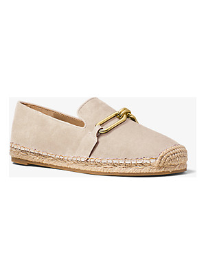 MICHAEL KORS COLLECTION Lennox Suede And Jute Espadrille