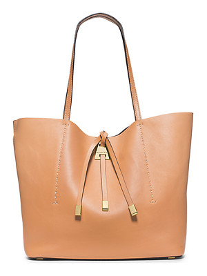 Michael Kors Collection Miranda Large Leather Tote