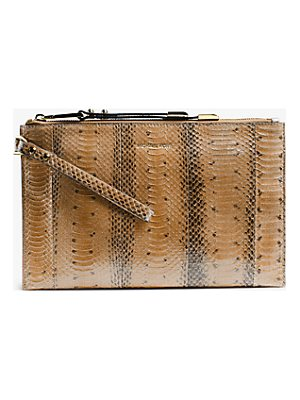 MICHAEL KORS COLLECTION Miranda Large Zip Clutch