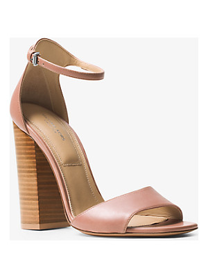 MICHAEL KORS COLLECTION Rosa Leather Sandal